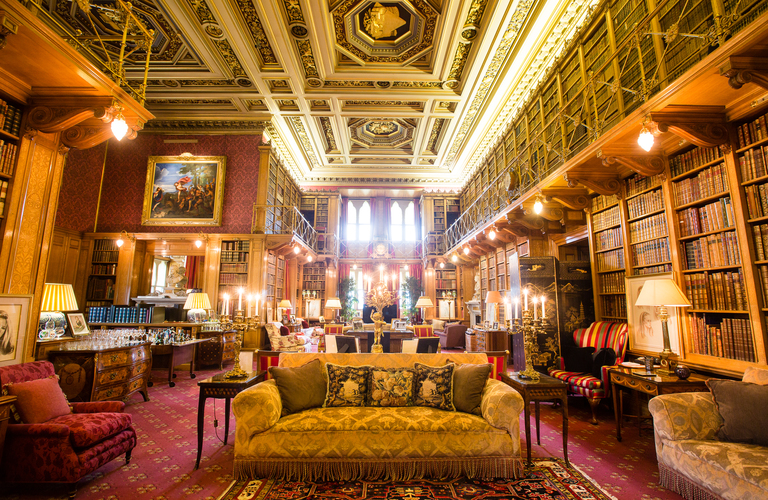Alnwick Castle Library
