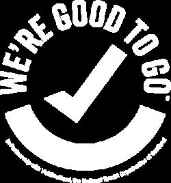 We're good to go COVID ready logo